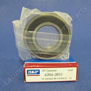 Part # 6206-2RS, skf bearing For Wascomat Machines W74 & W75