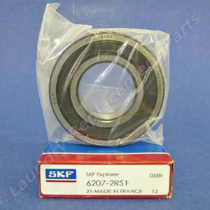 Part # 6207-2RS, SKF Bearing For Alliance Machine HC18