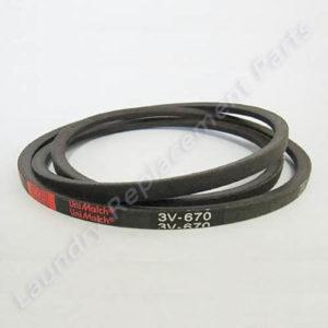 3V670 Belt For Huebsch, Speedqueen, Unimac