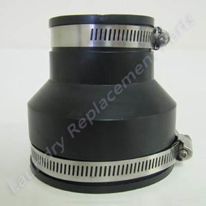 """Rubber Reducer Coupling 3"""" x 2"""""""